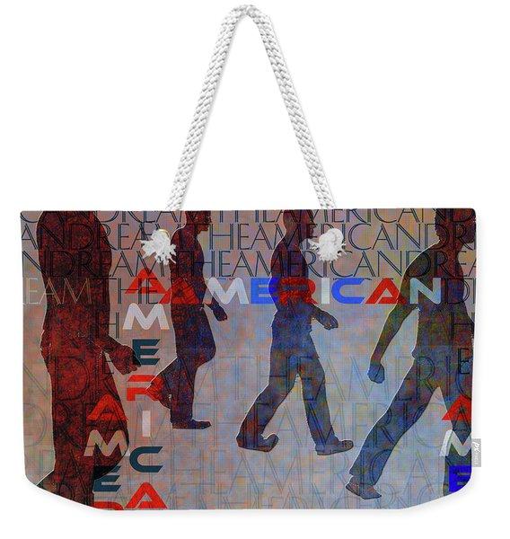 The American Dream Weekender Tote Bag