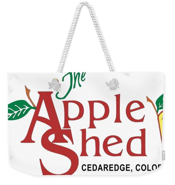 The Appleshed Weekender Tote Bag
