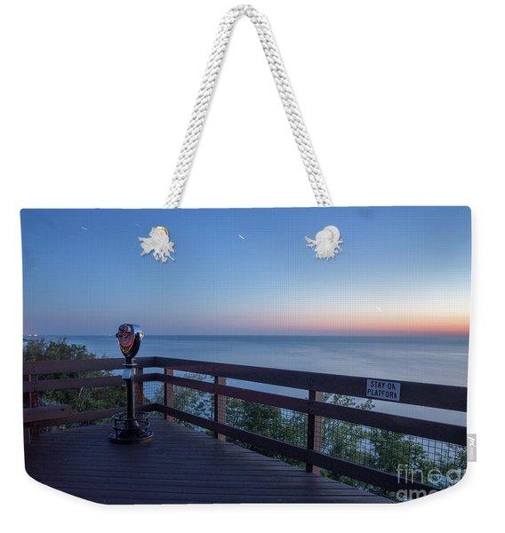 The Arcadia Overlook In Summer At Night Weekender Tote Bag