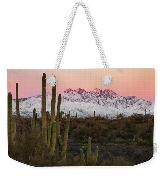 The Arizona Alps Weekender Tote Bag