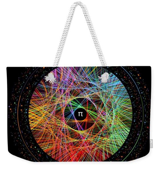 The Art Of Pi  Weekender Tote Bag