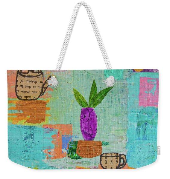 The Art Of Tea Two Weekender Tote Bag