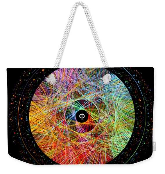 The Art Of The Golden Ratio Phi Weekender Tote Bag