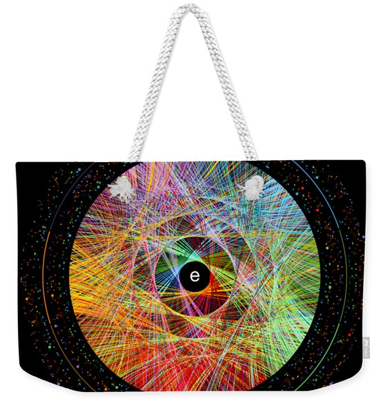 The Art Of The Natural Logarithm E Weekender Tote Bag