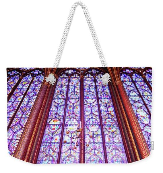 The Awe Of Sainte Chappelle Weekender Tote Bag