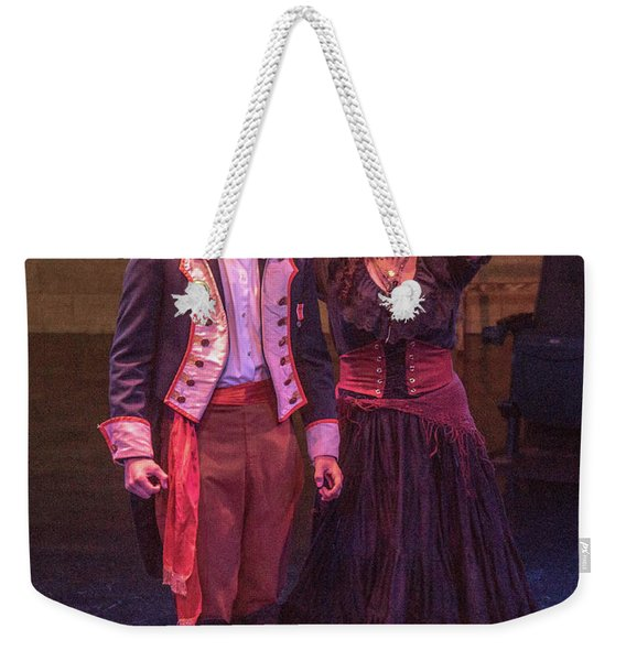 The Bad Brother And The Gypsy Weekender Tote Bag