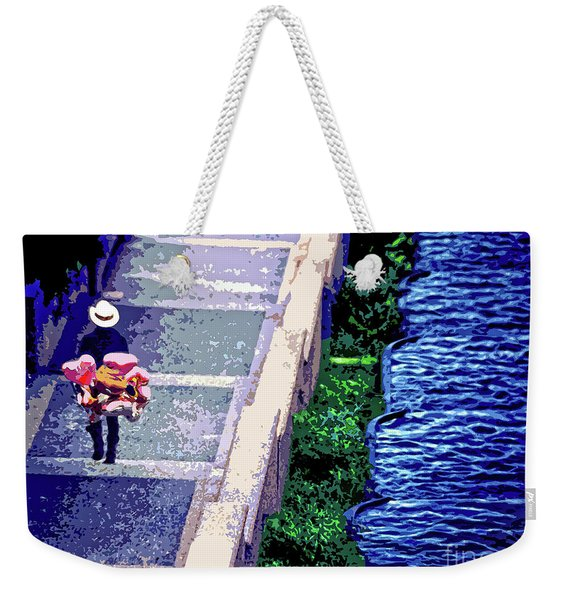 The Balloon Man In Malcolm X Park Weekender Tote Bag