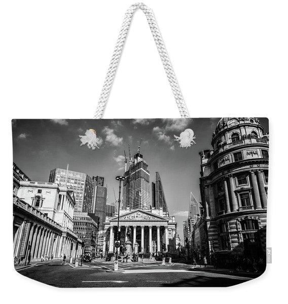 The Bank Of England Weekender Tote Bag