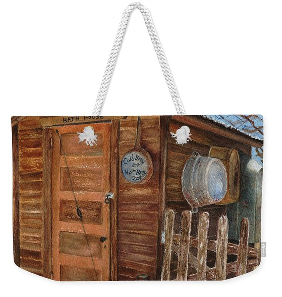 The Bath House Weekender Tote Bag