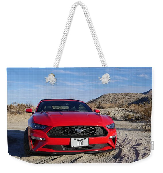 The Beast Weekender Tote Bag