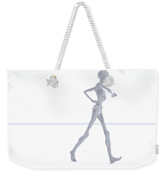 The Beautiful Lisa Strut 015 Weekender Tote Bag