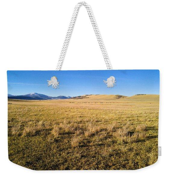 The Beautiful Valley Weekender Tote Bag