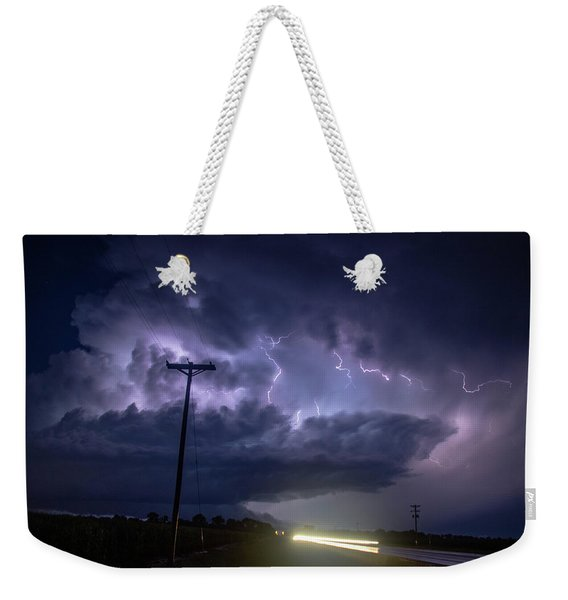 The Best Supercell Of The Summer 043 Weekender Tote Bag