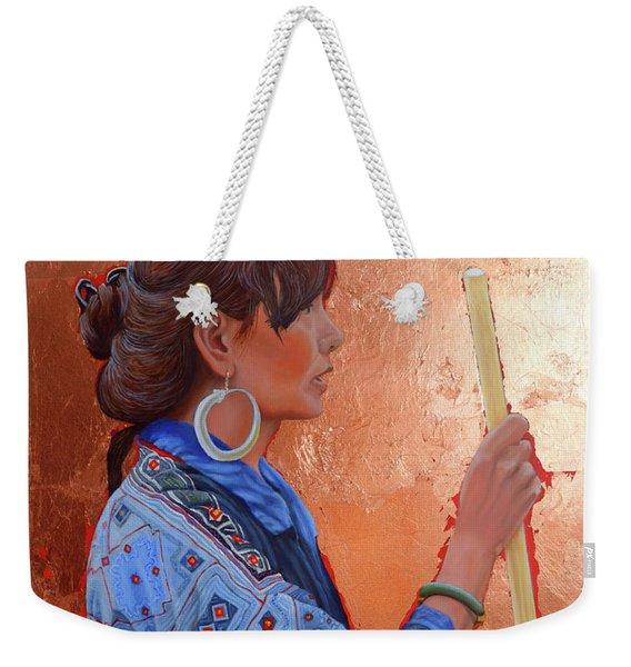 The Black Hmong Princess Weekender Tote Bag