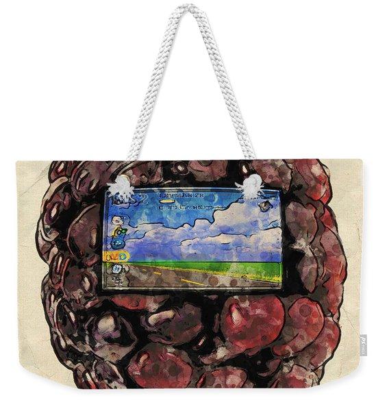 The Blackberry Concept Weekender Tote Bag