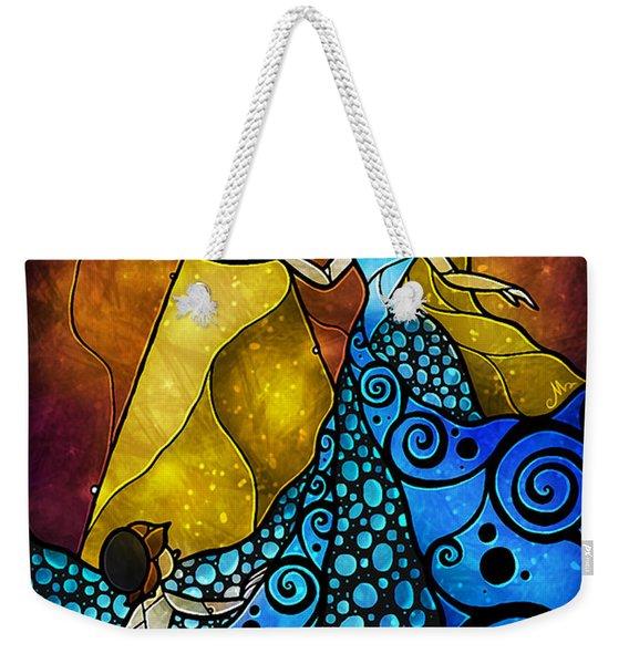 The Blue Fairy Weekender Tote Bag