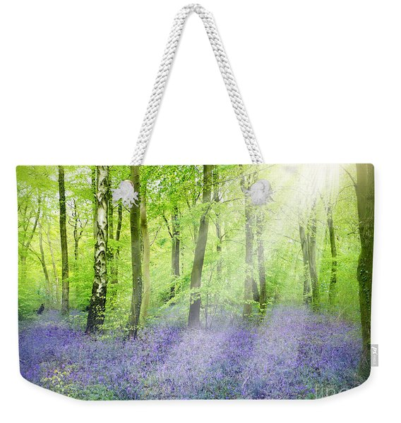 The Bluebell Woods Weekender Tote Bag