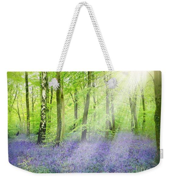 The Bluebell Woods Weekender Tote Bag
