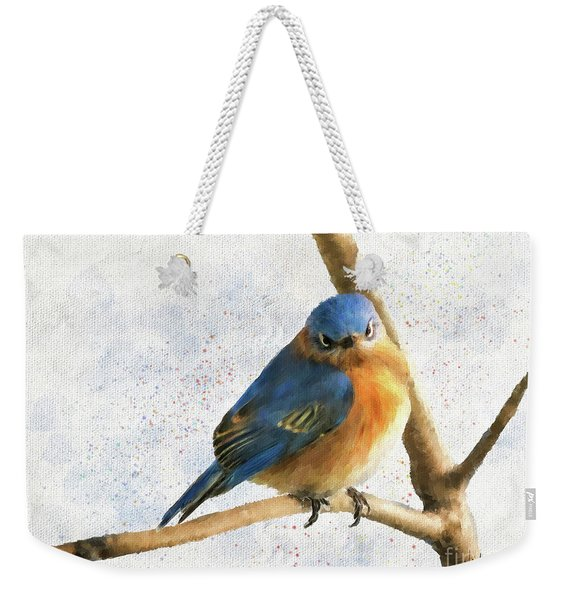 The Bluebird Of Unhappiness Weekender Tote Bag