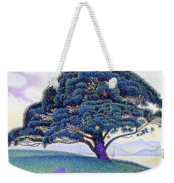 The Bonaventure Pine - Digital Remastered Edition Weekender Tote Bag