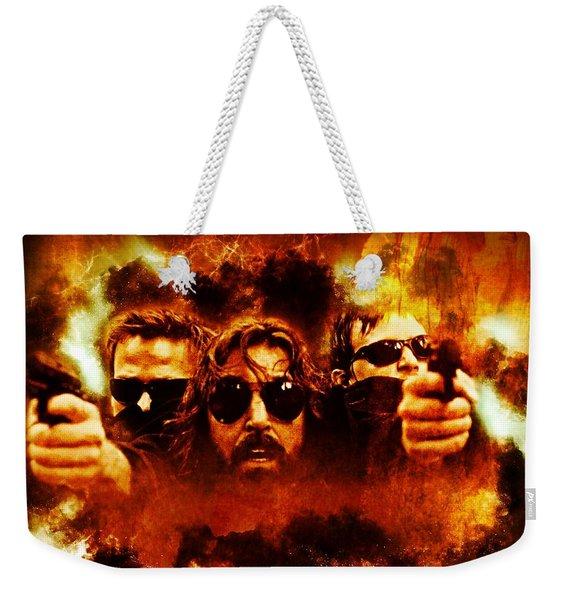 Saints In The Mist Of The Storm Weekender Tote Bag
