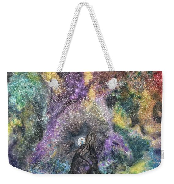 The Boy Who Followed The Moon  Weekender Tote Bag