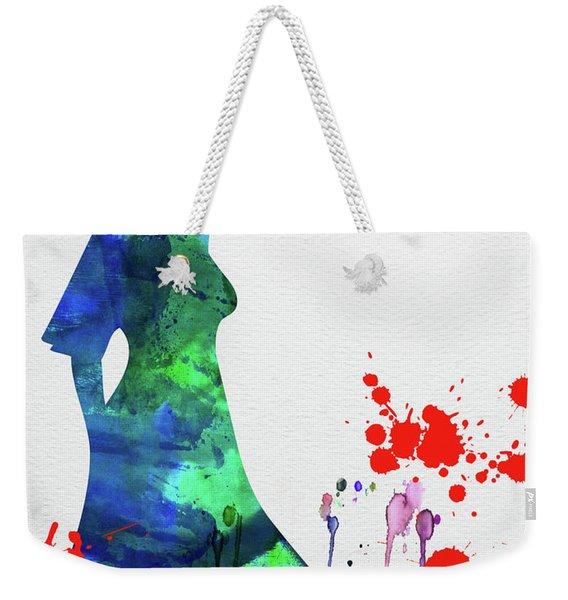 The Bride In Blood Watercolor  Weekender Tote Bag