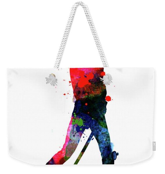 The Bride Watercolor IIi Weekender Tote Bag