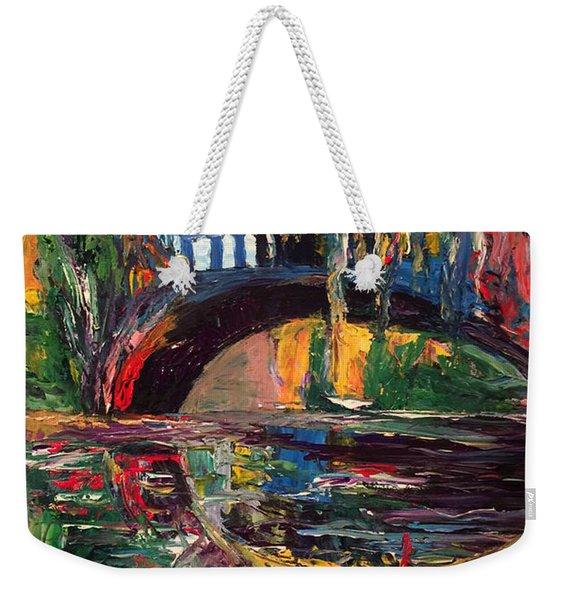 The Bridge At City Park New Orleans Weekender Tote Bag