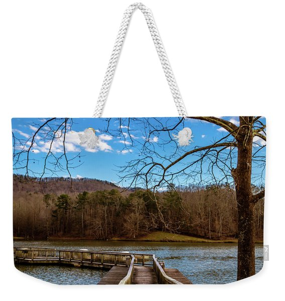 The Bridge Weekender Tote Bag
