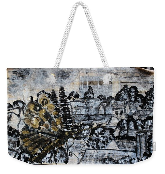 The Butterfly Affect Weekender Tote Bag
