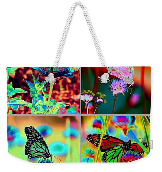 The Butterfly Collection 2 Weekender Tote Bag