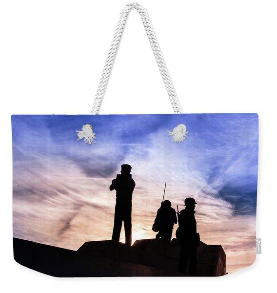 The Canadian Peacekeepers Weekender Tote Bag