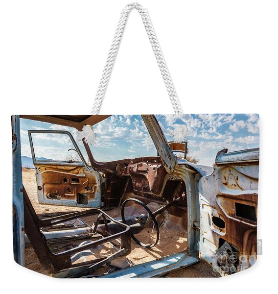 The Car Is Open, Please Come In Weekender Tote Bag