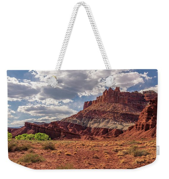 The Castle At Mummy Cliffs Weekender Tote Bag