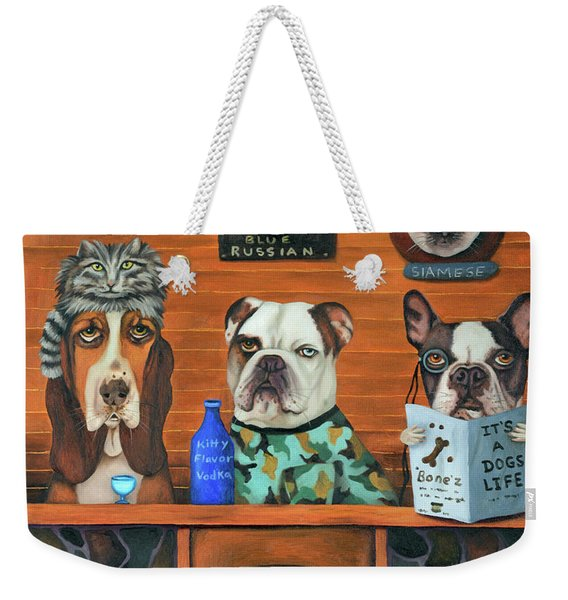 The Cat Hunters Weekender Tote Bag