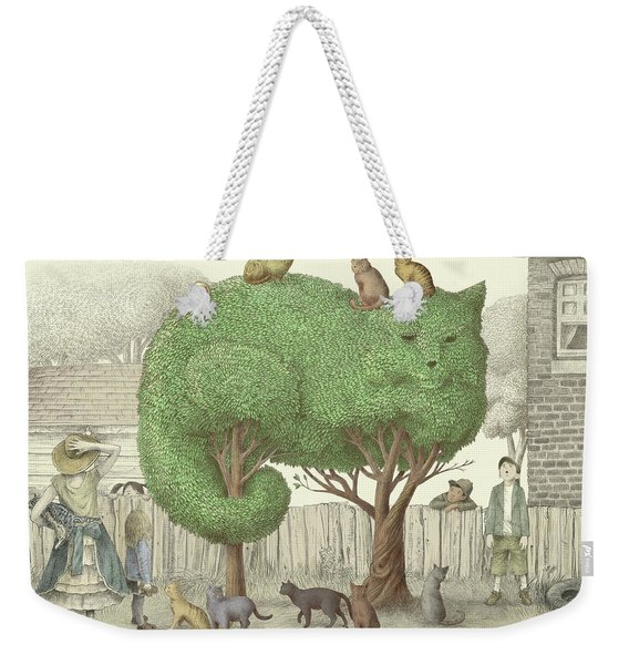 The Cat Tree Weekender Tote Bag