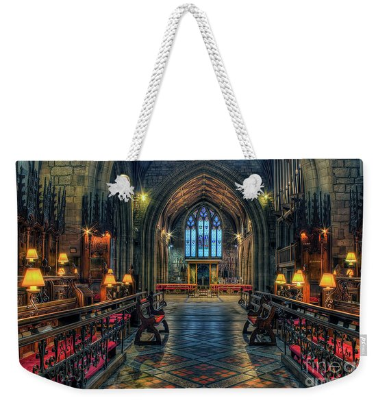 The Cathedral Church Of Saints Asaph And Cyndeym Weekender Tote Bag