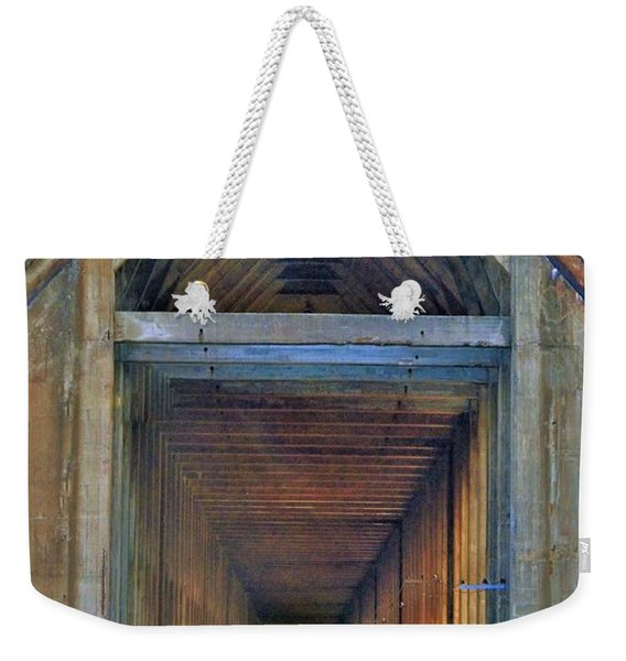 The Cathedral Ore Dock Of Marquette Weekender Tote Bag