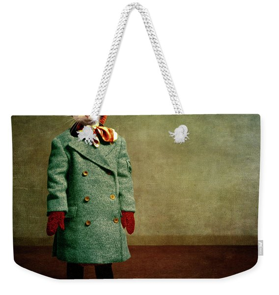 The Chilly Girl Weekender Tote Bag