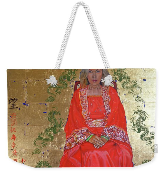 The Chinese Empress Weekender Tote Bag