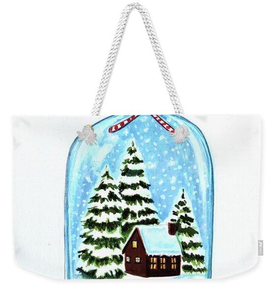The Christmas Terrarium Weekender Tote Bag
