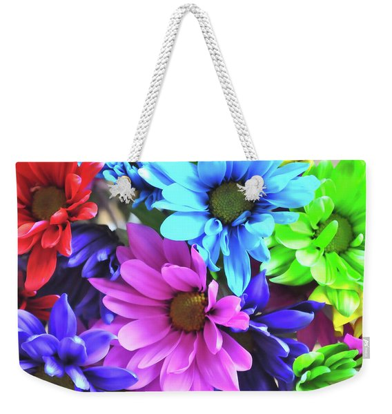 Weekender Tote Bag featuring the photograph The Chuckle Patch by JAMART Photography