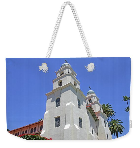 The Church Of The Good Shepherd - Church Of The Stars Weekender Tote Bag