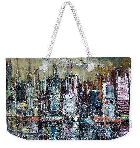 The City Awakens Weekender Tote Bag