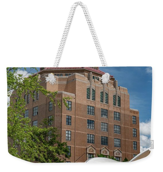 The City Hall Weekender Tote Bag