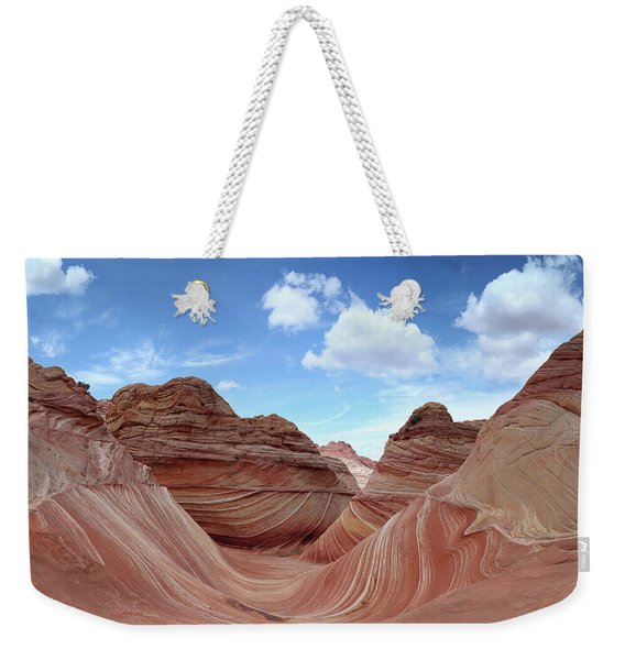 The Classic Wave Weekender Tote Bag