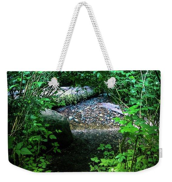 Creekside Clearing Weekender Tote Bag