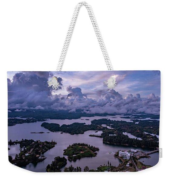 The Clouds At Penol Weekender Tote Bag