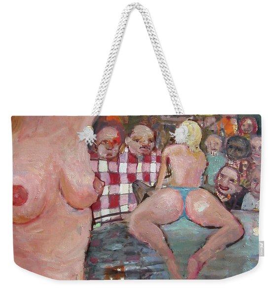The Club Weekender Tote Bag